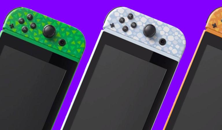 Fan Made Animal Crossing Nintendo Switch Looks Stunning