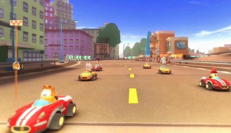 Garfield Kart Furious Racing Engines Purr Mypotatogames