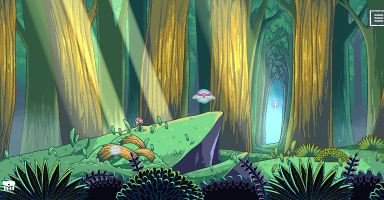 She and the Light Bearer: A Fairytale Point-and-Click