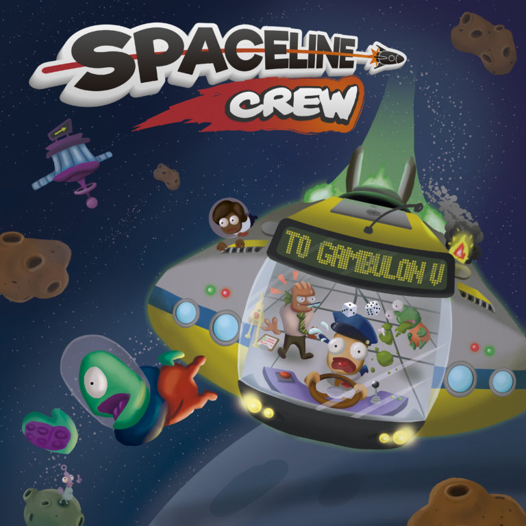 Spaceline Crew - The Ultimate Sci-fi Couch Co-op Experience