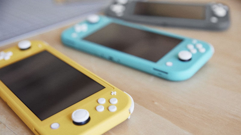 Nintendo Switch Lite Available Now!