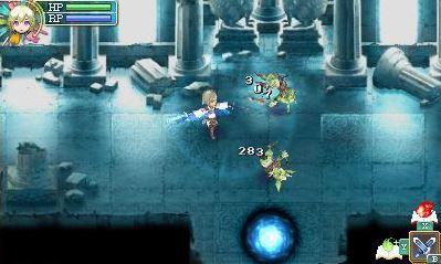 fighting monsters in rune factory 4 3DS