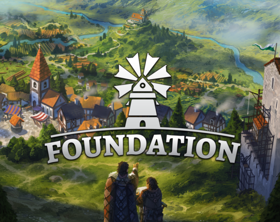 foundation city building simulation game