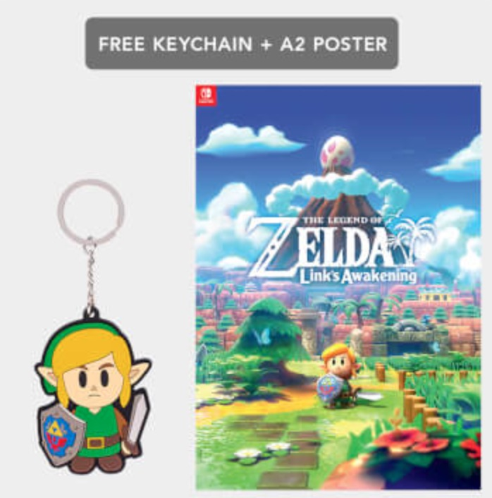 Link's Awakening Keychain