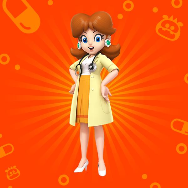 Dr. Mario World Daisy