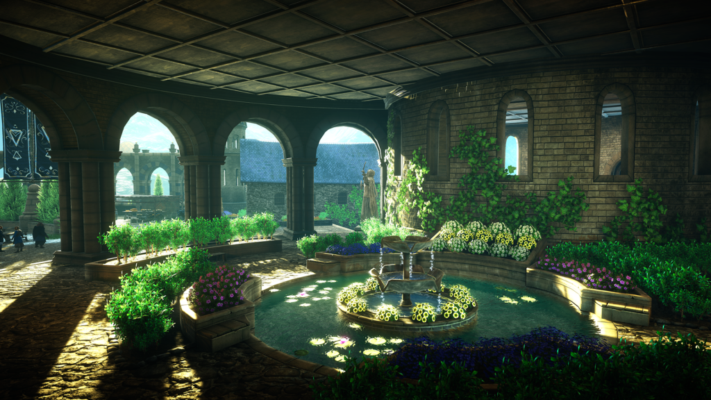 Eastshade garden