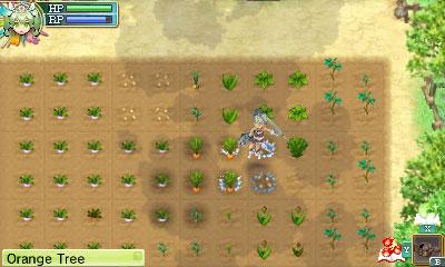 watering crops in Rune Factory 4
