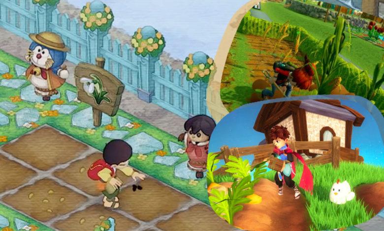 Console Farming Games