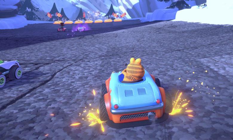 Garfield Kart Furious Racing New Screenshots Revealed Mypotatogames