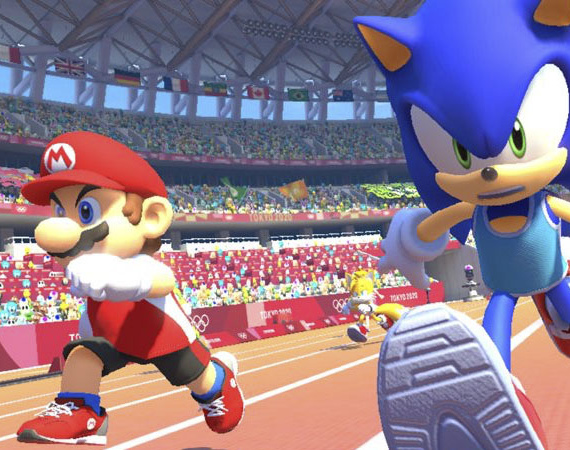 Mario & Sonic At The Olympic
