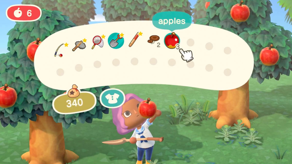 Animal Crossing New Horizons Inventory