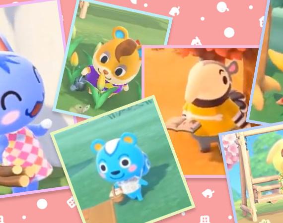 Animal Crossing New Horizons Villagers