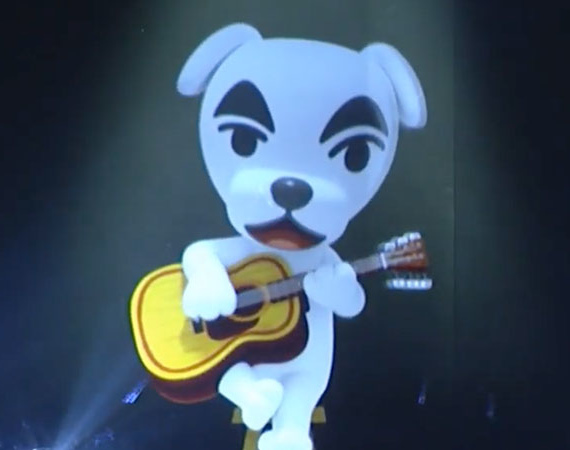 K.K Slider From Animal Crossing Performs Live For Fans