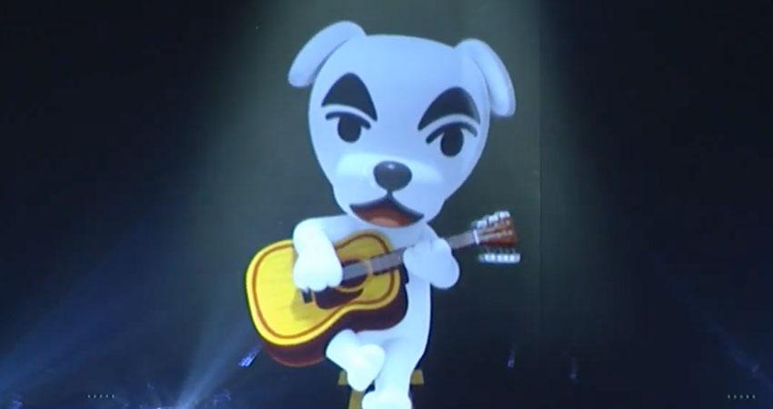 Animal Crossing Nintendo Live K.K Slider Condert