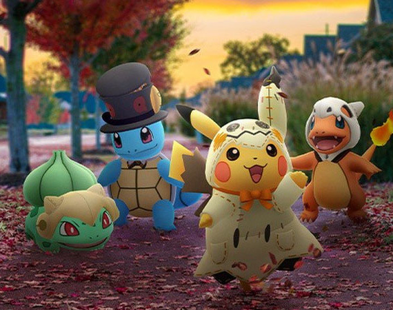 Pokemon Go Goes Wild For Halloween