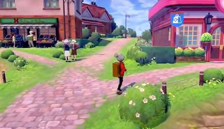 Pokemon Sword Shield Town