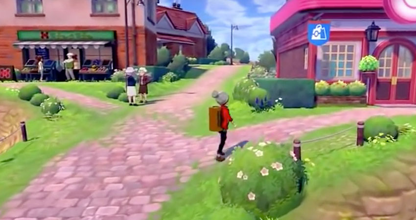 Pokemon Sword Shield Town