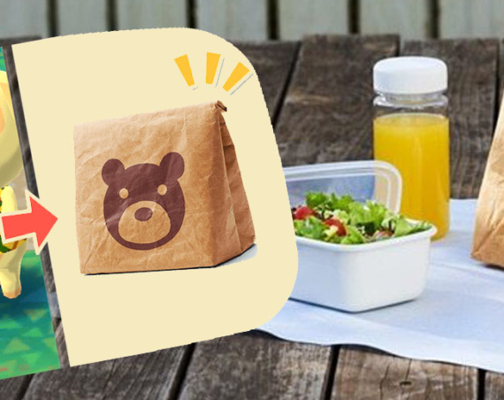 Nintendo Is Giving Away Animal Crossing Pocket Camp Paper Bags