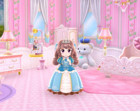 Pretty Princess Magical Coordinate – Restore A Princess Castle
