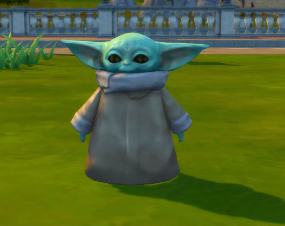 Baby Yoda is Now in The Sims 4 Thanks to New Update