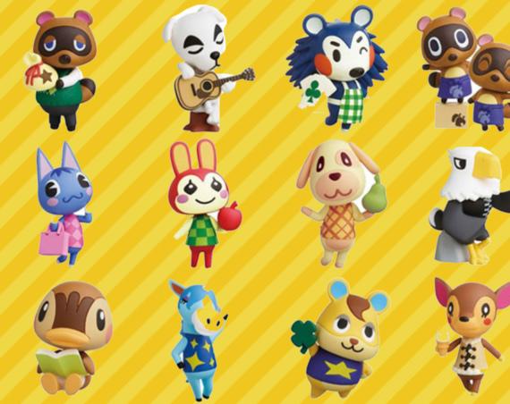Animal Crossing Figurines