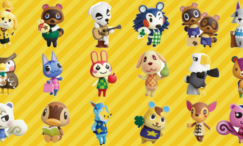 rare animal crossing characters list