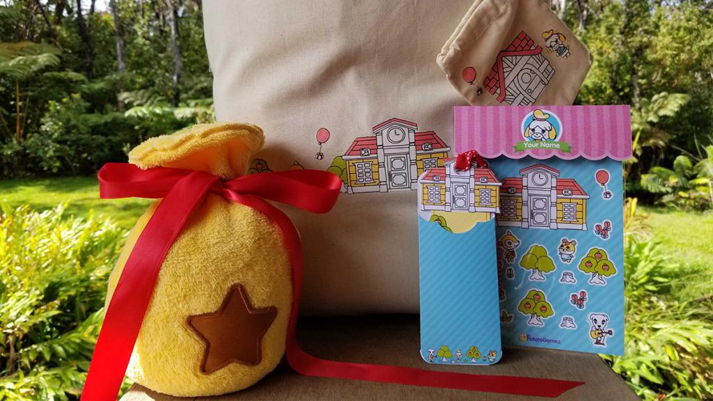 Animal Crossing Bell bag