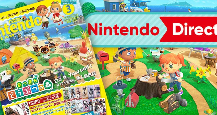 Animal Crossing Direct 2020