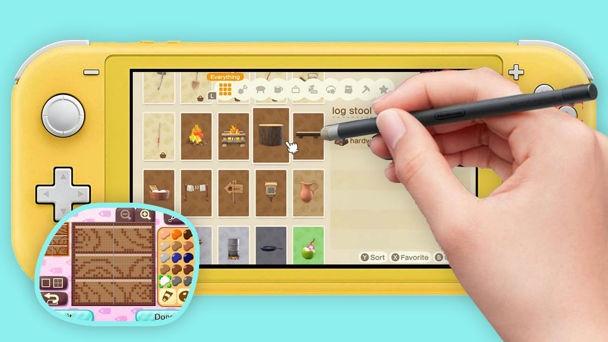 Nintendos Official Stylus Hints At Custom Textures In Animal