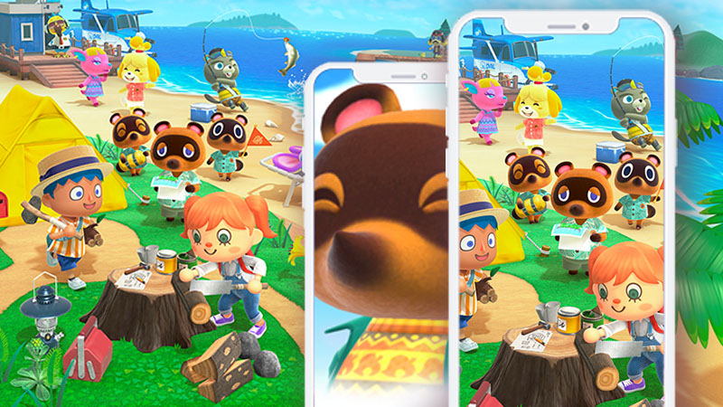 Grab Your New Animal Crossing New Horizons Phone Wallpaper