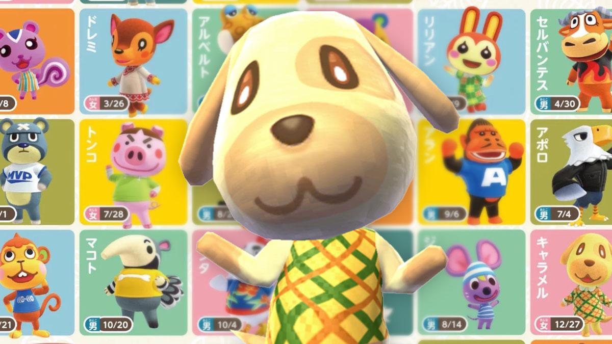 Latest Animal Crossing New Horizons Villager Screenshots ...