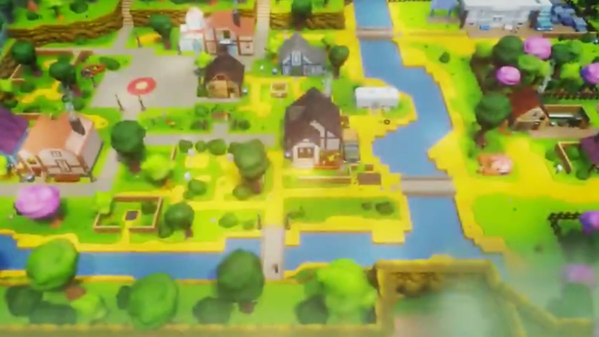 Dreams Remake Of Pelican Town From Stardew Valley Is ...