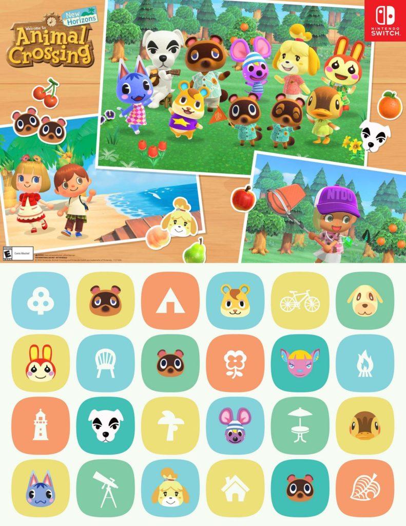 animal crossing gamestop poster
