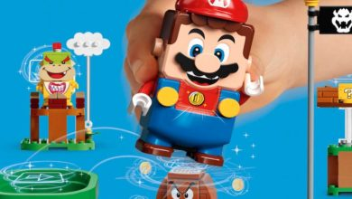 Photo of Mario Takes Lego To A Whole New Level