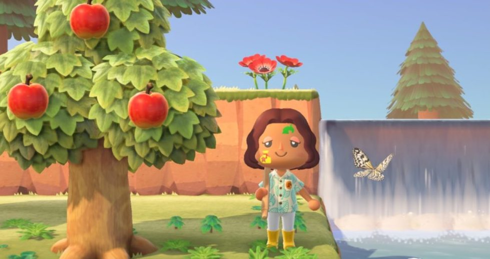 Paint Your Face In Animal Crossing New Horizons With Transparent