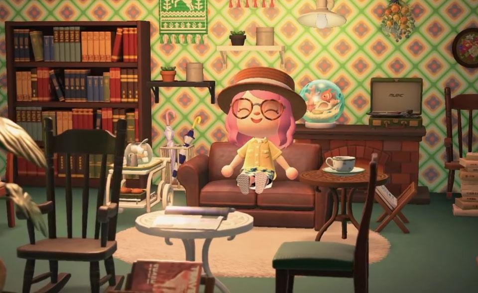 Animal Crossing Wallpaper Designs With Windows - WallpaperShit