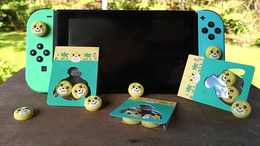 Animal Crossing New Hoirzons Thumbstick Grips
