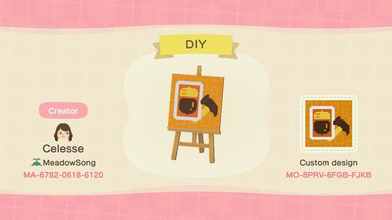 Cute Non Clothing Custom Design Codes For Animal Crossing New Horizons Mypotatogames