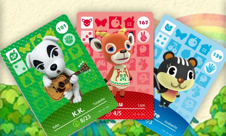 Animal Crossing New Horizons Amiibo Cards