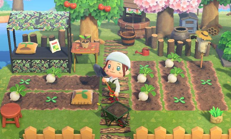 animal crossing new horizons gardening cooking