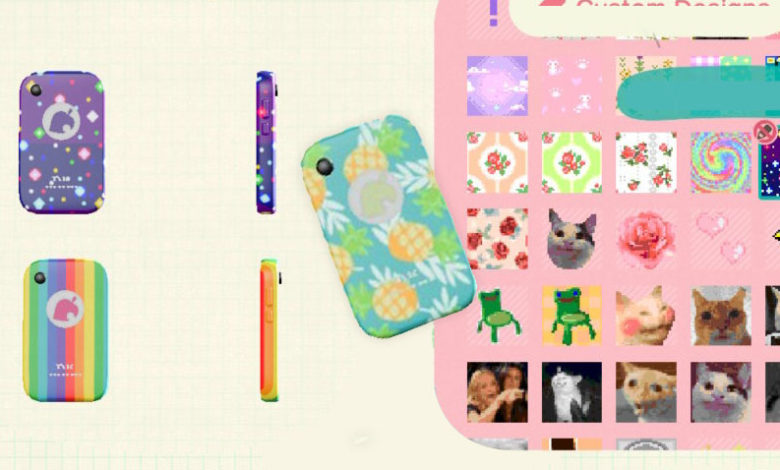 How To Customize Your Nookphone Case In Animal Crossing New