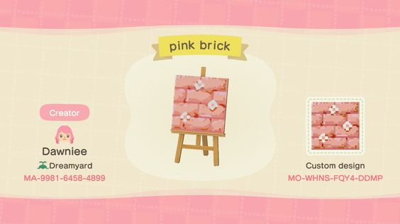Cute Non Clothing Custom Design Codes For Animal Crossing New