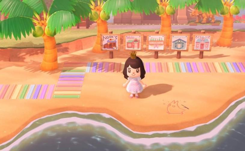 Cute Non Clothing Custom Design Codes For Animal Crossing New Horizons Mypotatogames