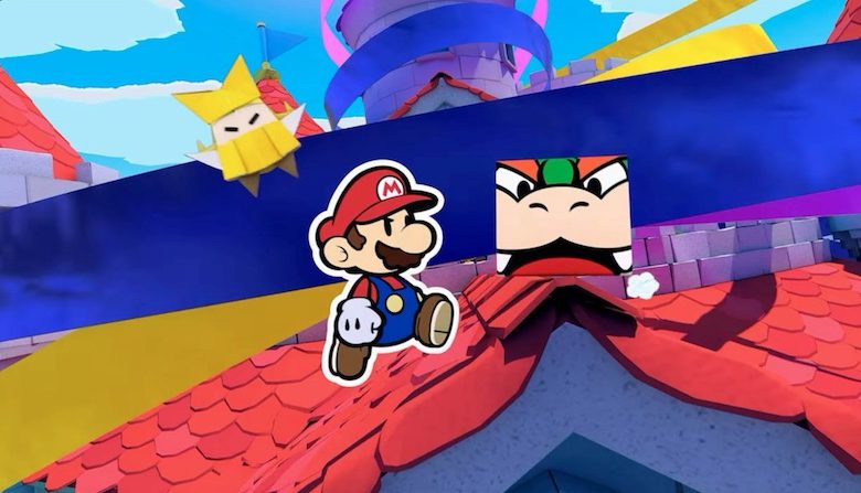 Paper Mario The Origami King preorder bonus
