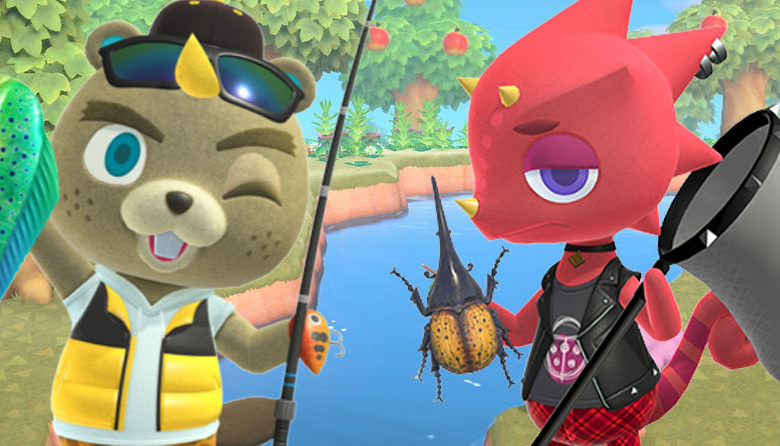 animal crossing new horizons c.j and flick