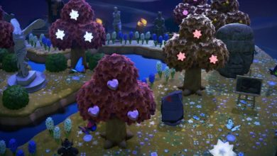 Photo of Animal Crossing New Horizons Star Fragment Trees Are Beautiful