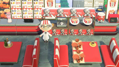 Photo of KFC Is Open For Business In Animal Crossing New Horizons