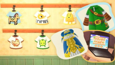 Photo of Awesome Game-Themed Animal Crossing: New Horizons Designs