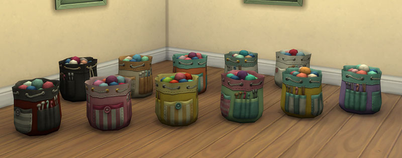 the sims 4 nifty knitting