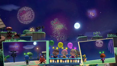 Photo of Animal Crossing New Horizons Players Create Beautifully Artistic Fireworks